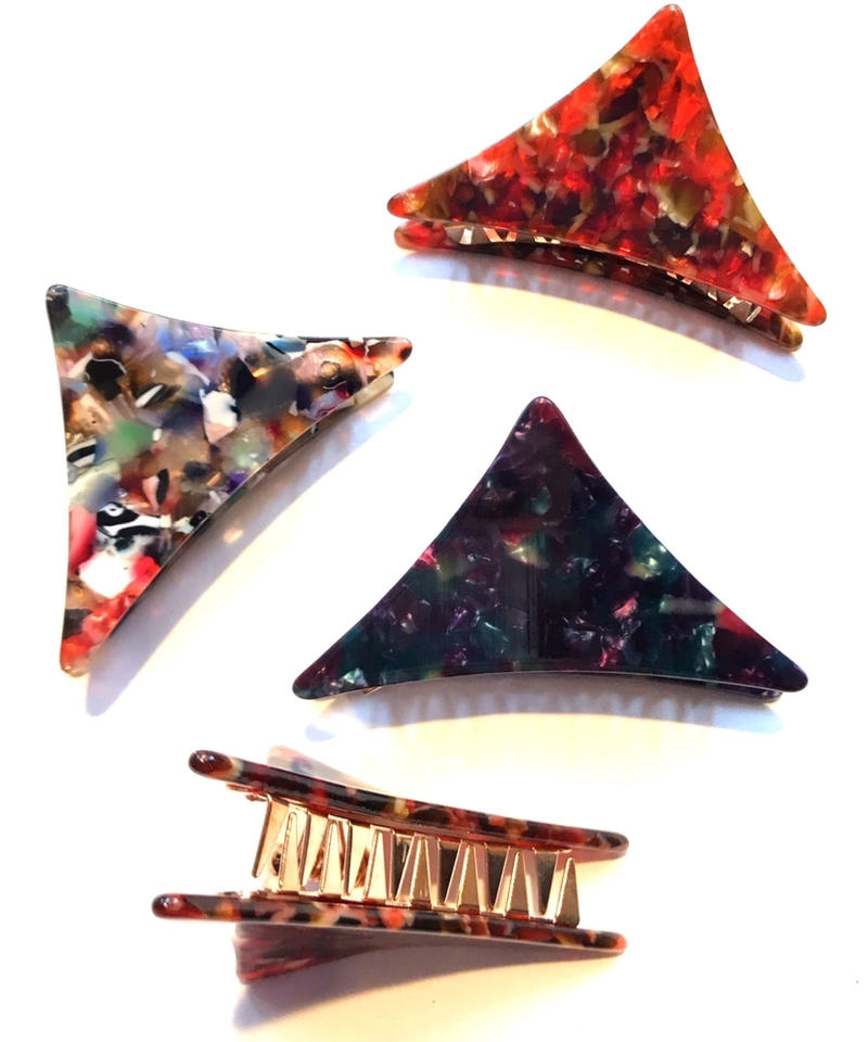 【Selected item】Triangle hair clip / 三角ヘアクリップ