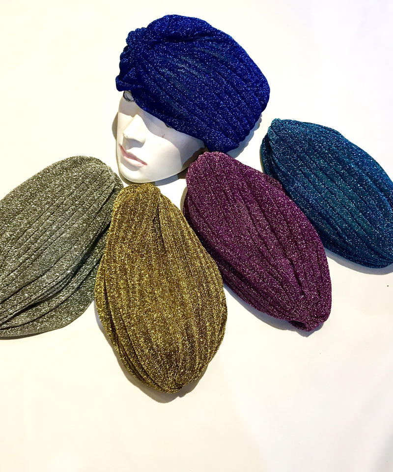 【Selected item】Glitter turban / グリッターターバン / mg-206