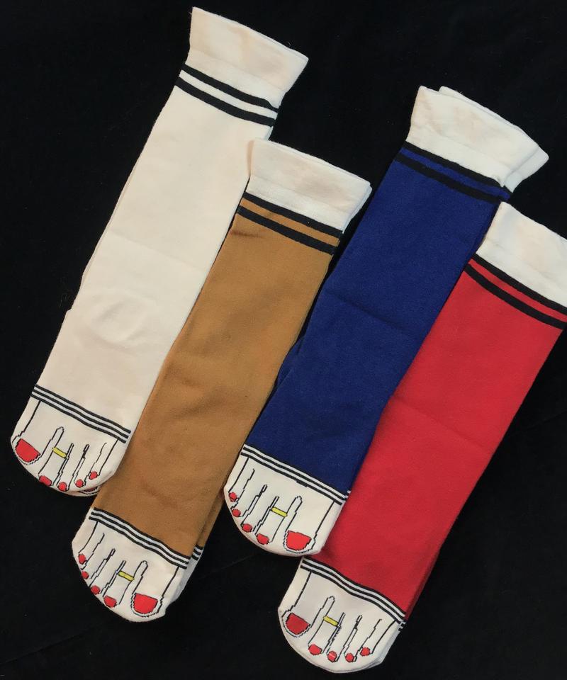 【Selected item】Finger patten socks /  指柄ソックス mg-86