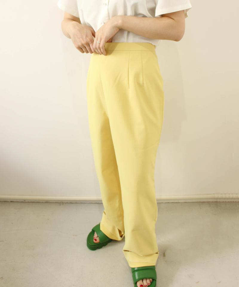 yellow said fastener slacks