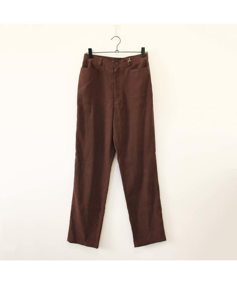 dusty brown slacks