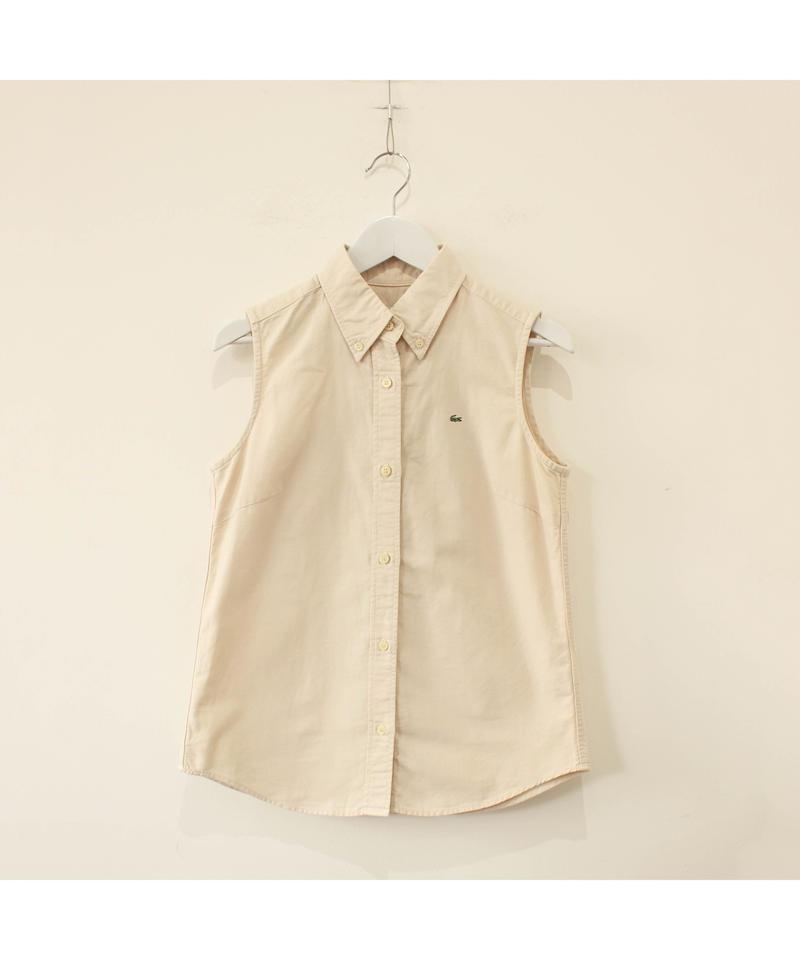 【lacoste】nosleeve shirt