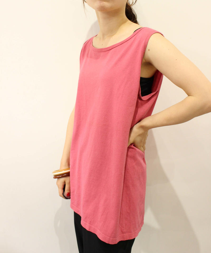 made in usa pink tank top