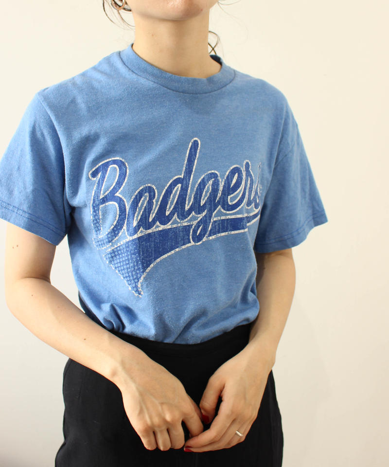blue college Tee
