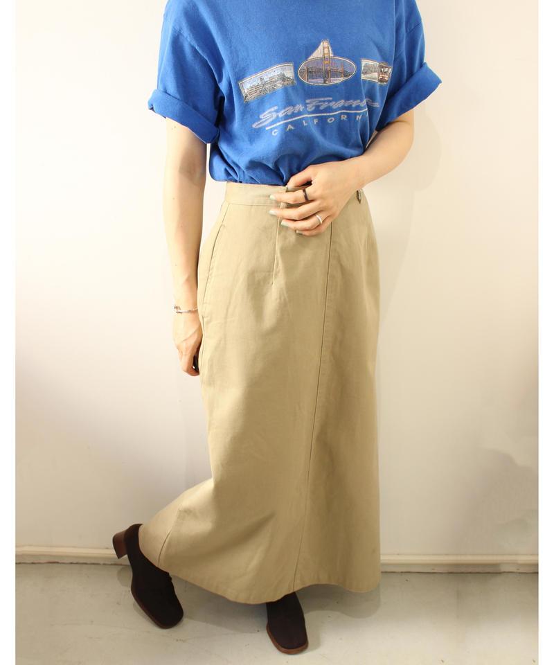 【Jpress】chino longskirt