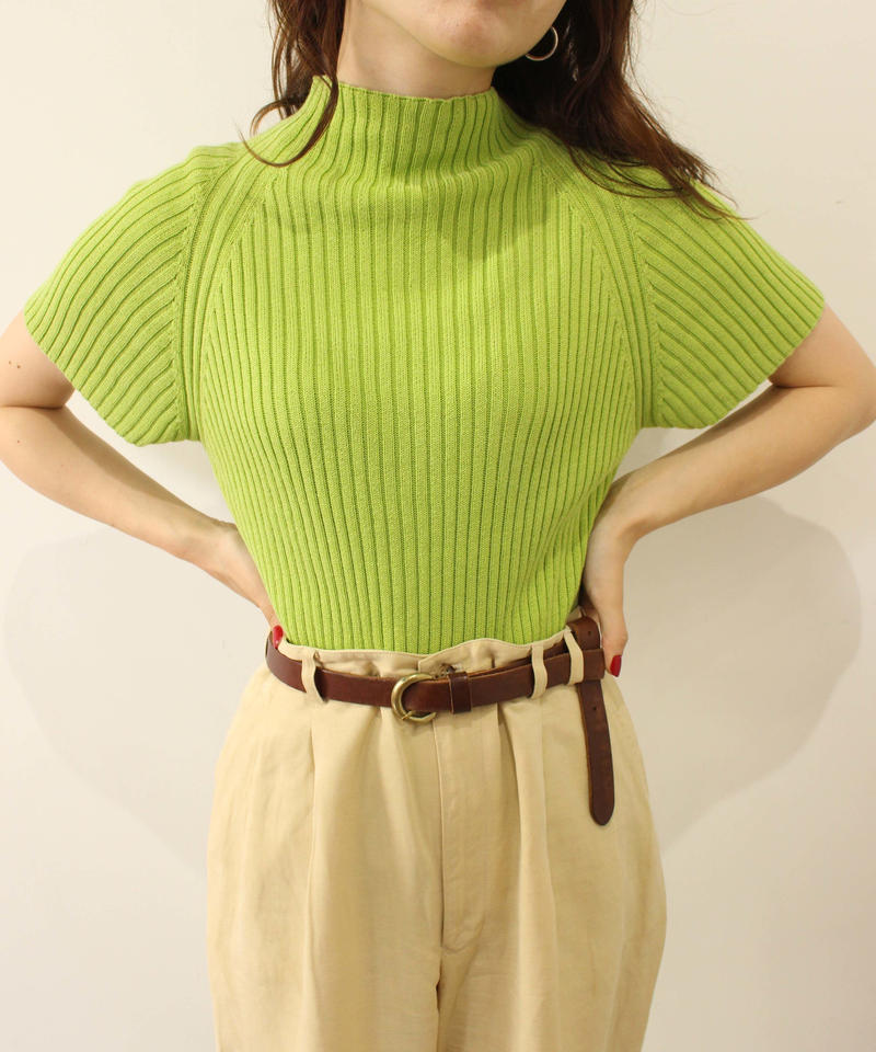 green summer knit