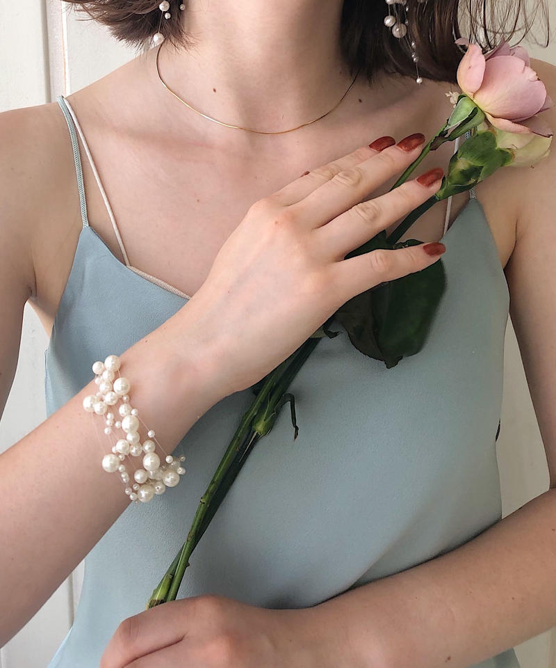 Lily pearlbracelet