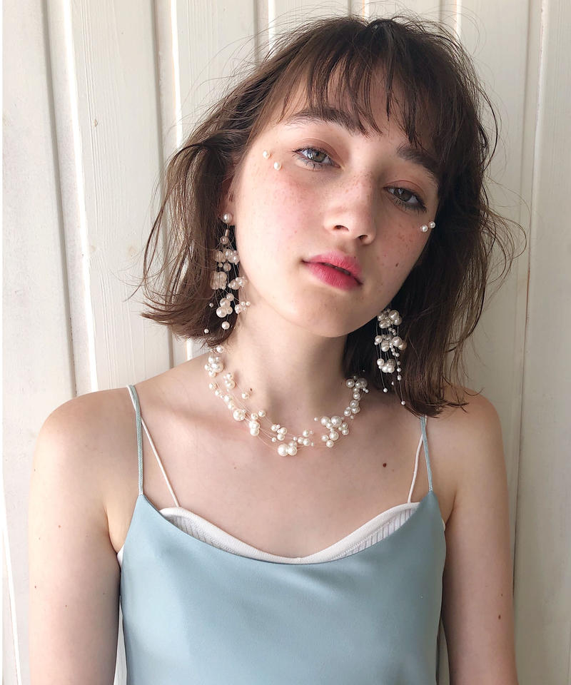 Lily pearlnecklace