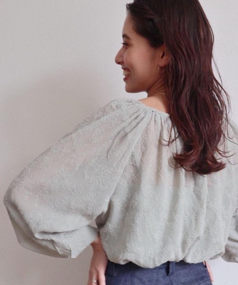 mousseline blouse