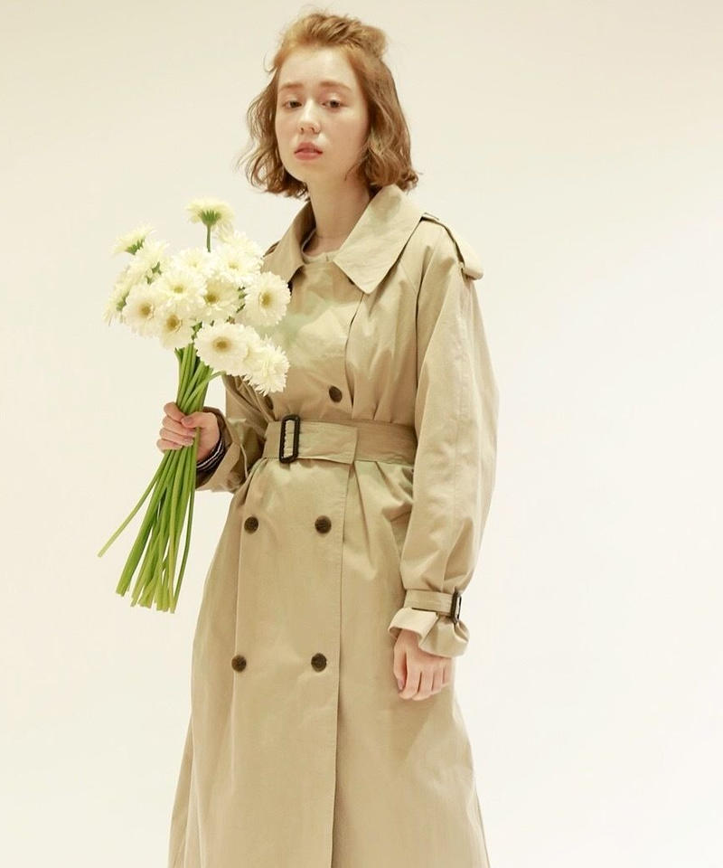 mila trench coat