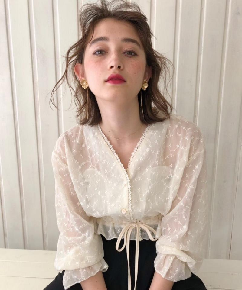 Florence lace cardigan