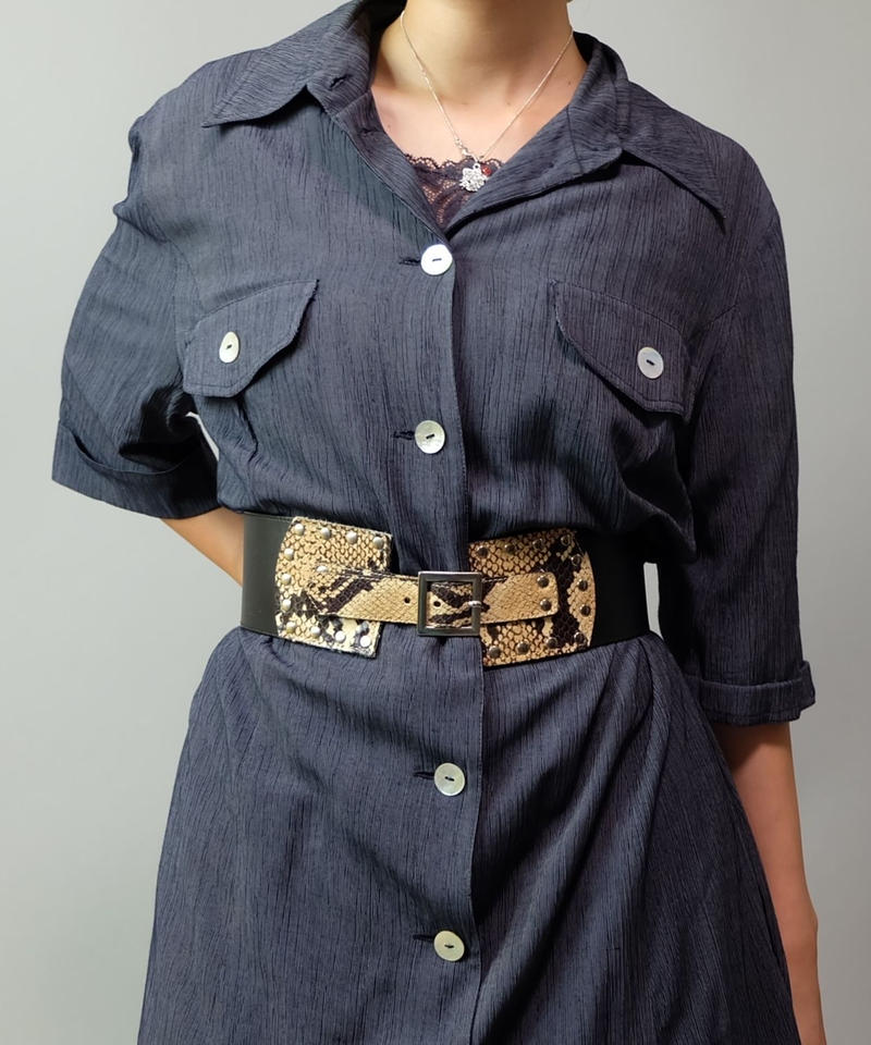 Vintage   Pyton Belt