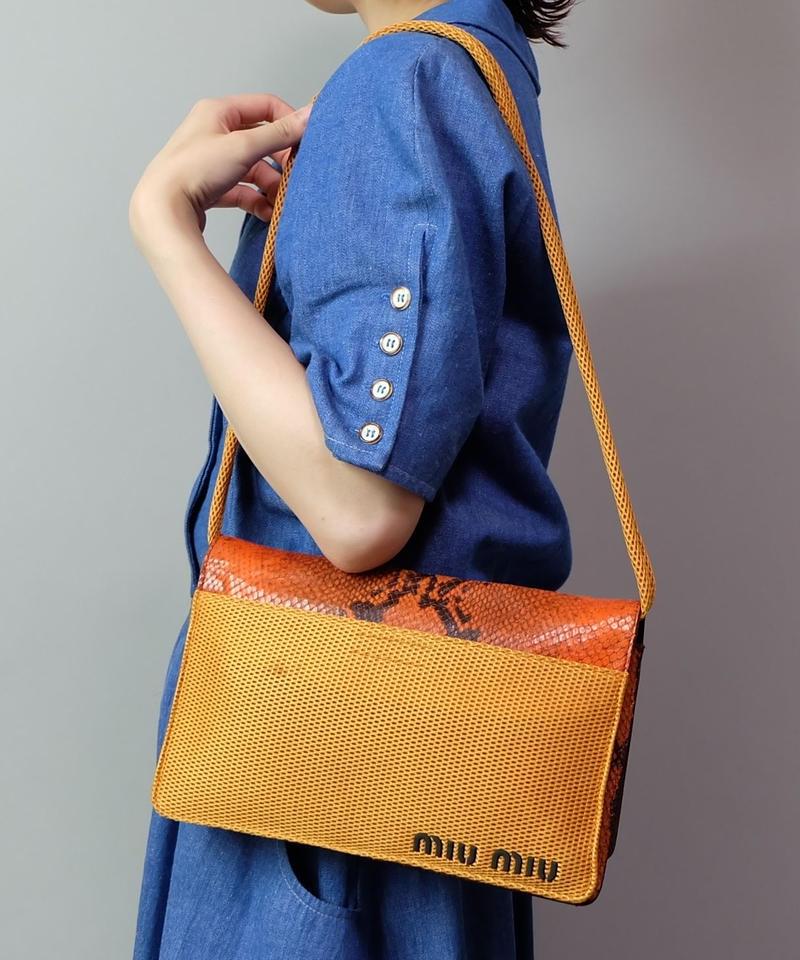 Vintage   min miu  Shoulder Bag