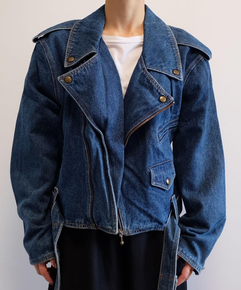 VINTAGE   DENIM RAIDERS JACKET