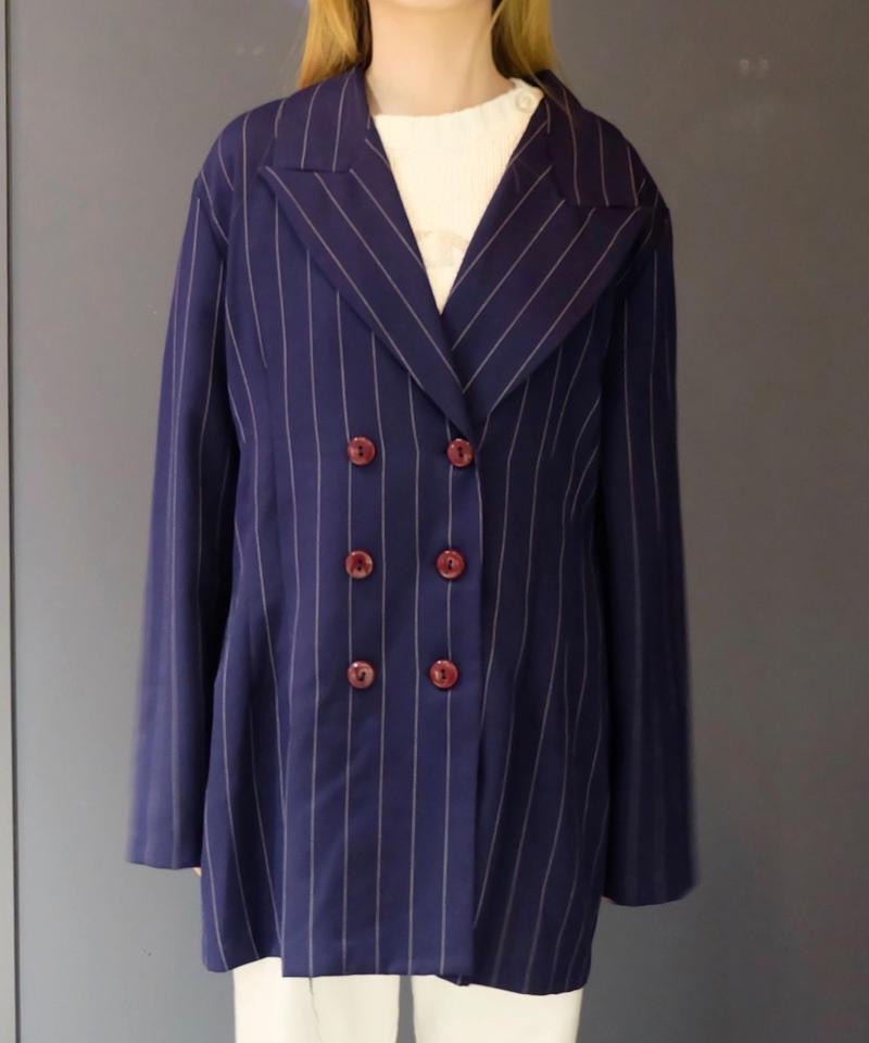 Vintage   Stripe Tailored Jacket