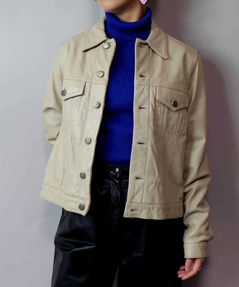 Vintage   Gianni Valentino Leather Jacket