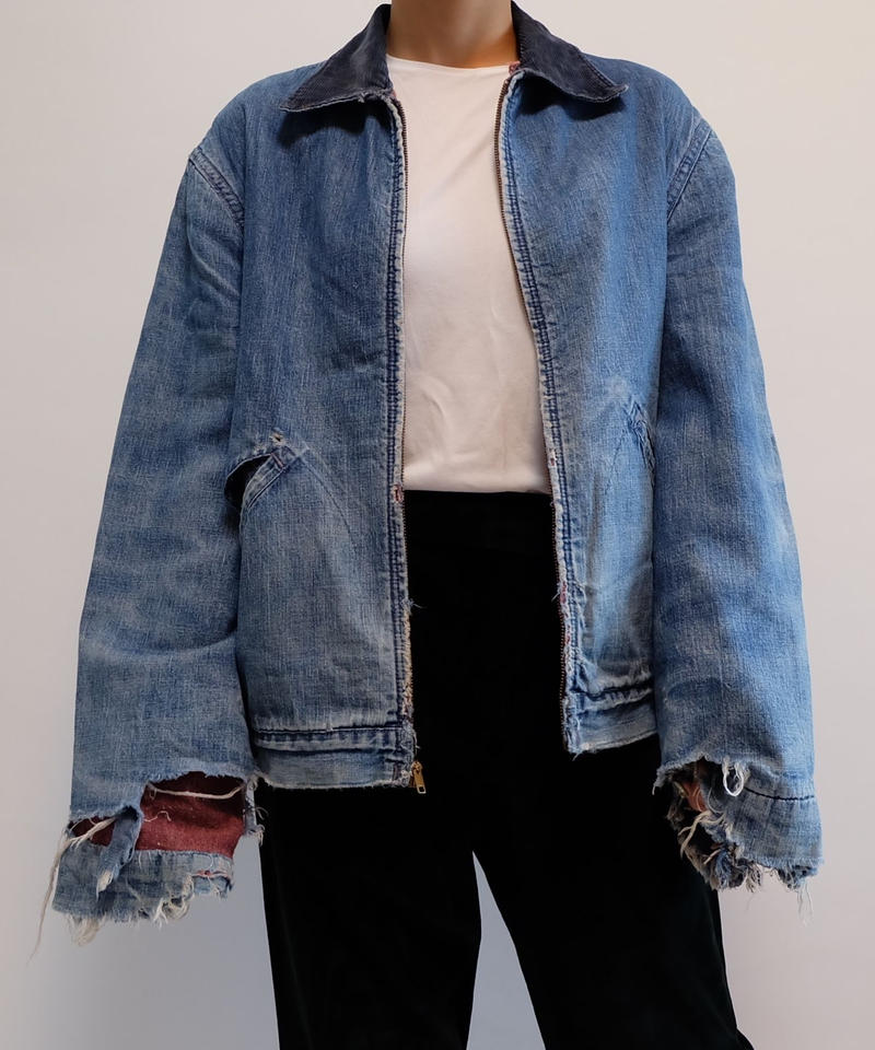 VINTAGE   CRASH DENIM JACKET