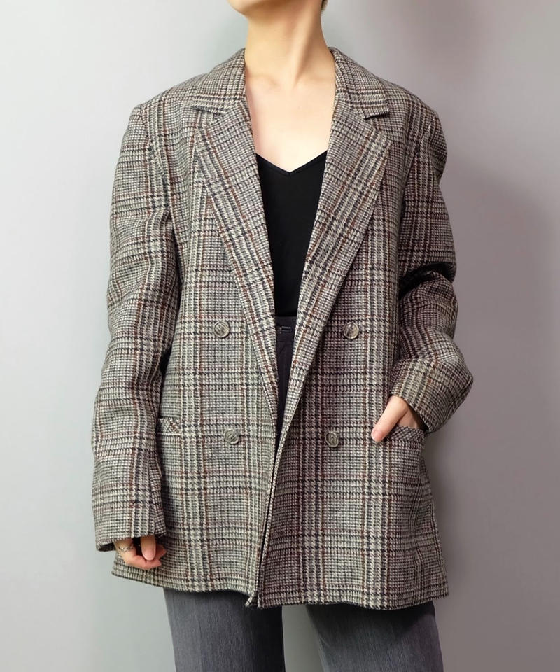 Vintage   Wool Tailored Jacket