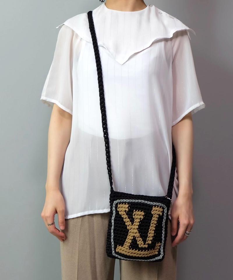 Vintage   Knit mini bag