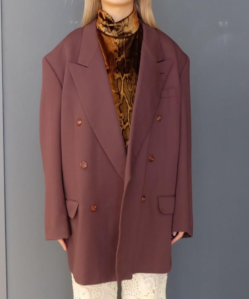 Vintage   Big size Tailored Jacket