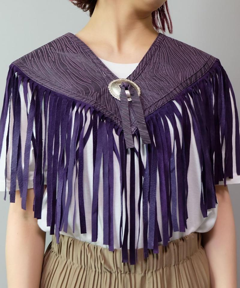 Vintage   Fringe Collar