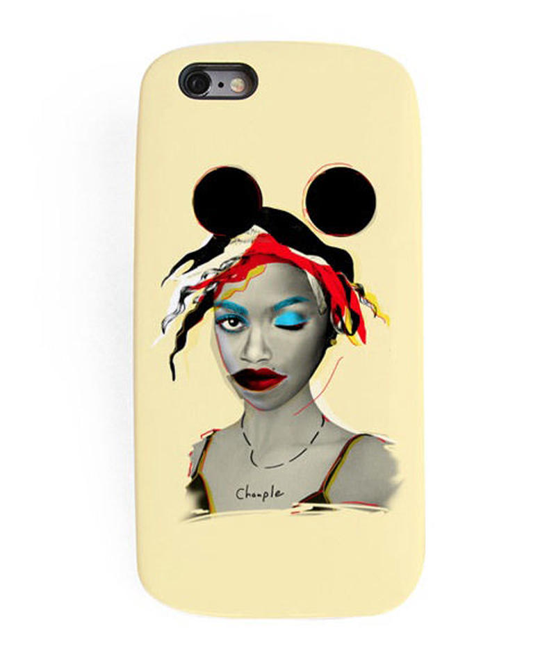 CHAMPLE X MOTTY   IPHONE CASE