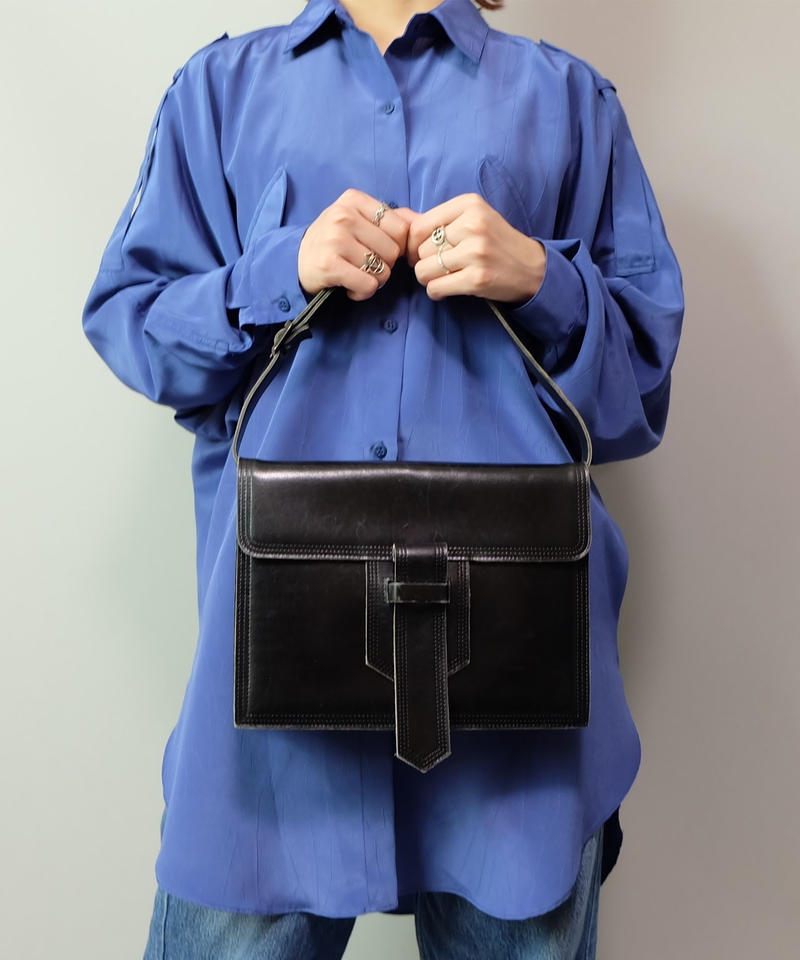 Vintage   Yves Saint Laurent Leather Bag