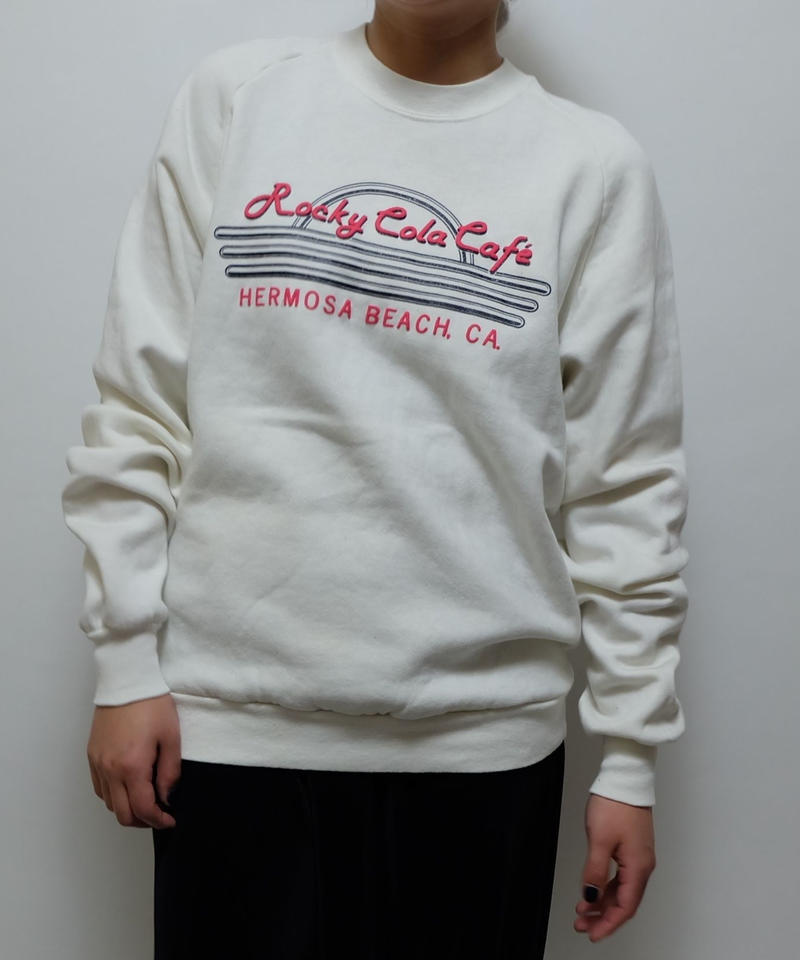 VINTAGE   ROCKY COLA CAFE  SWEAT