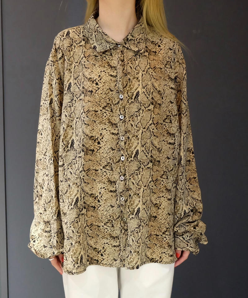 Vintage   Python Shirt