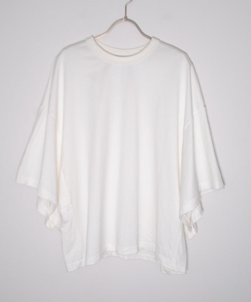 ANITYA/poncho tee(white)