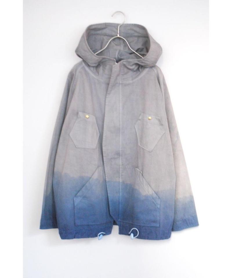 ・ てん/シミルジャケット(灰青)