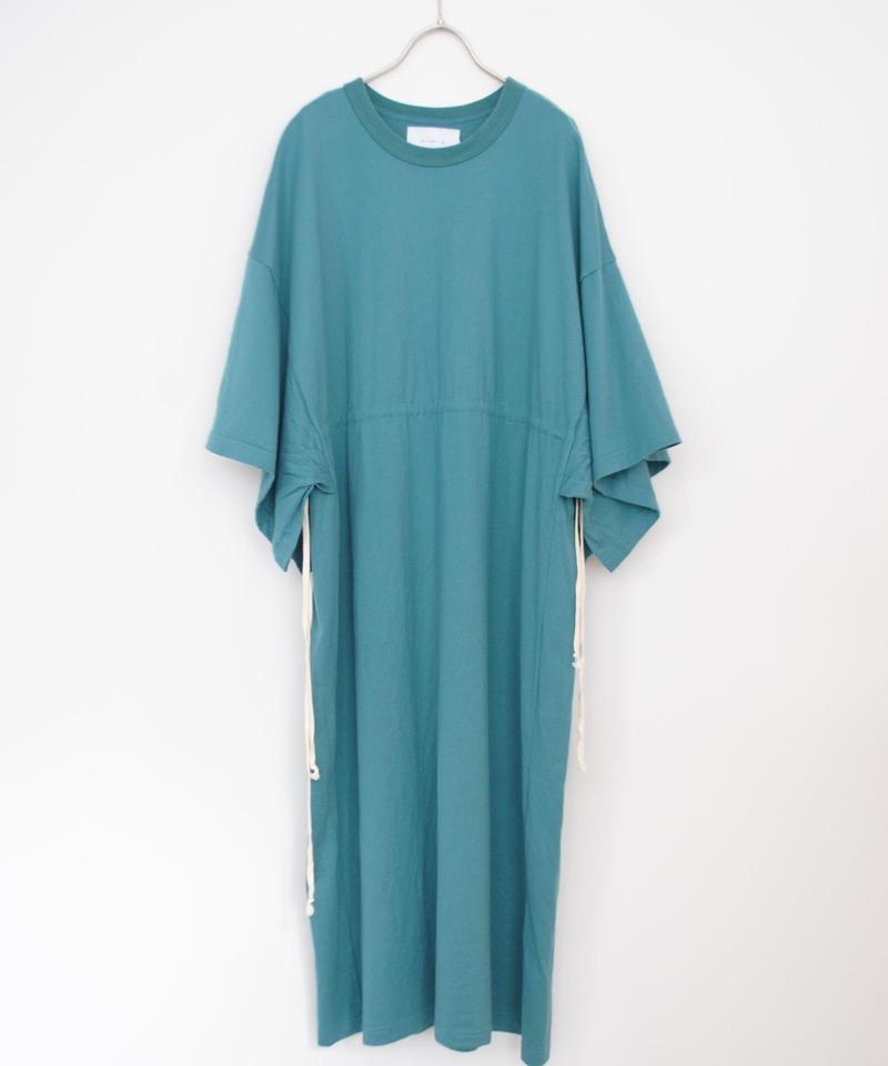ANITYA/poncho tee dress(blue)