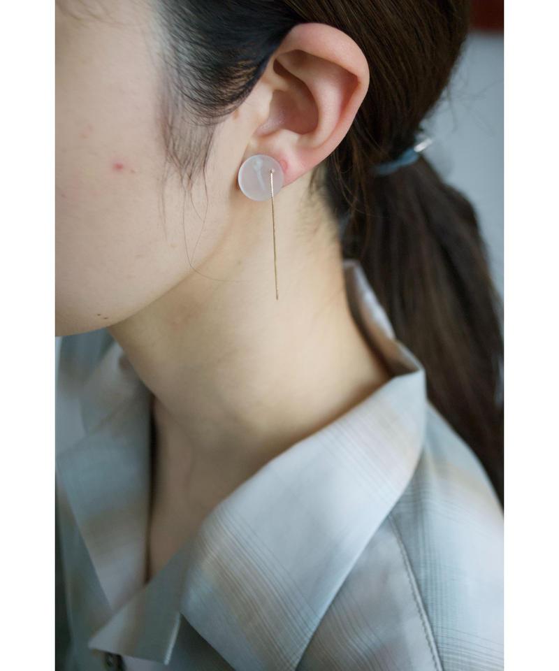 MMAA/oto 16 pair pierce・earring (white)