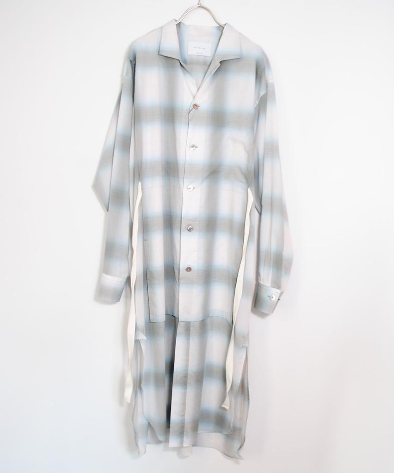 ANITYA/Gown Shirt(blue)