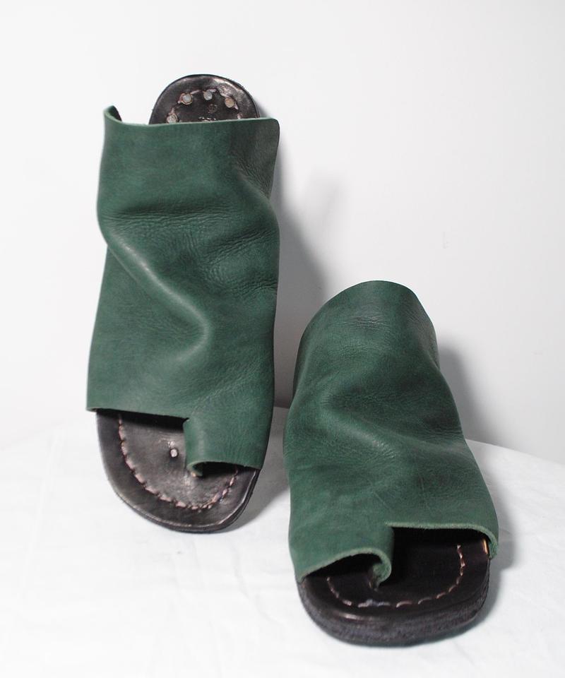 Portaille/thong sandal( dark green)