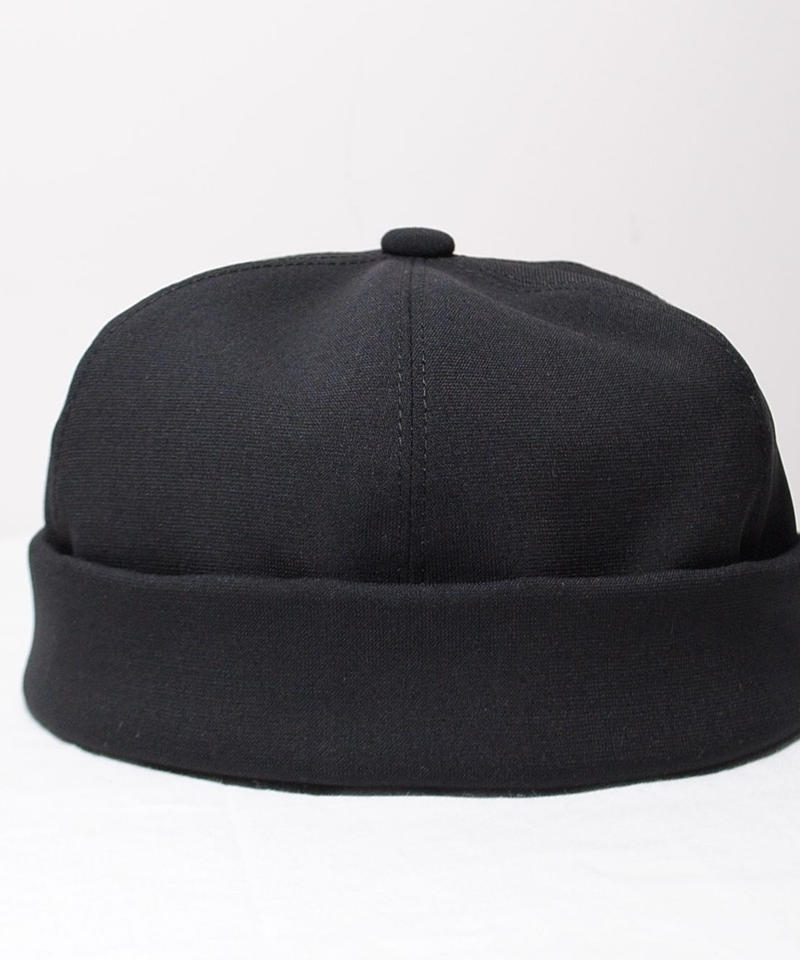 mitake/roll-up cap (black)