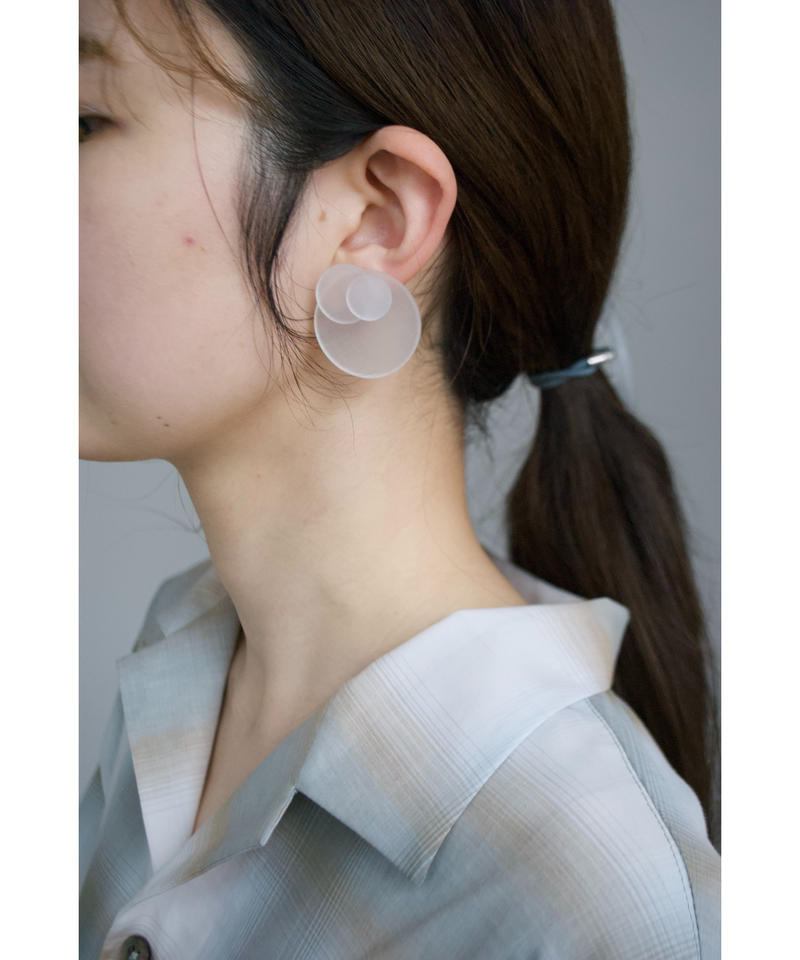 MMAA/oto03  pair pierce・earring (white)