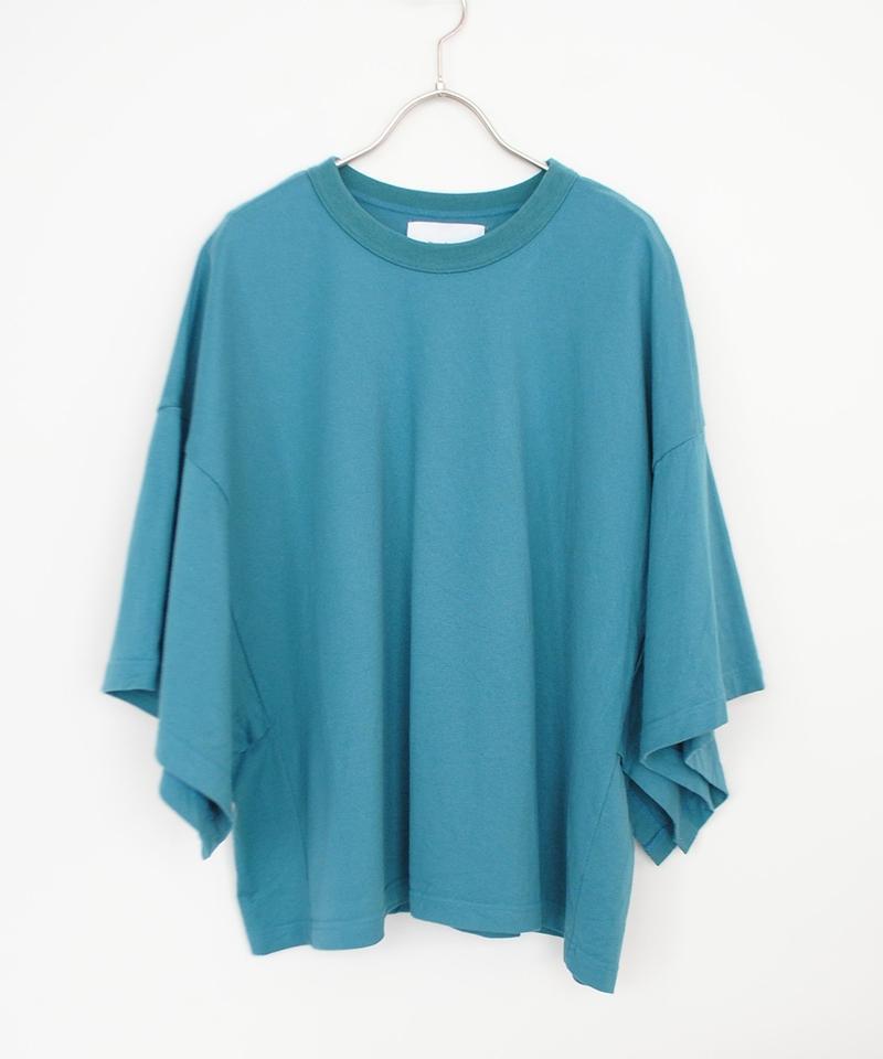 ANITYA/poncho tee(blue)