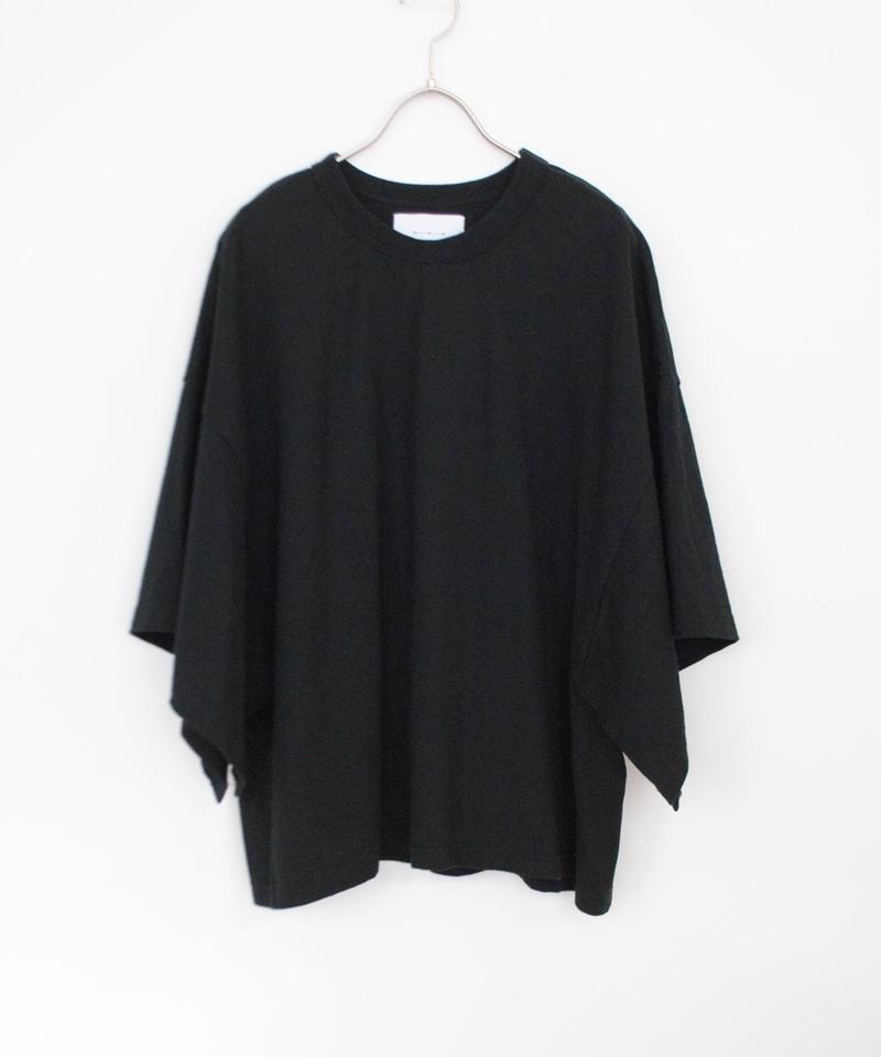 ANITYA/poncho tee(black)