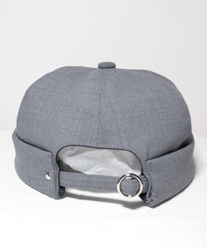 mitake/roll-up cap ( gray)