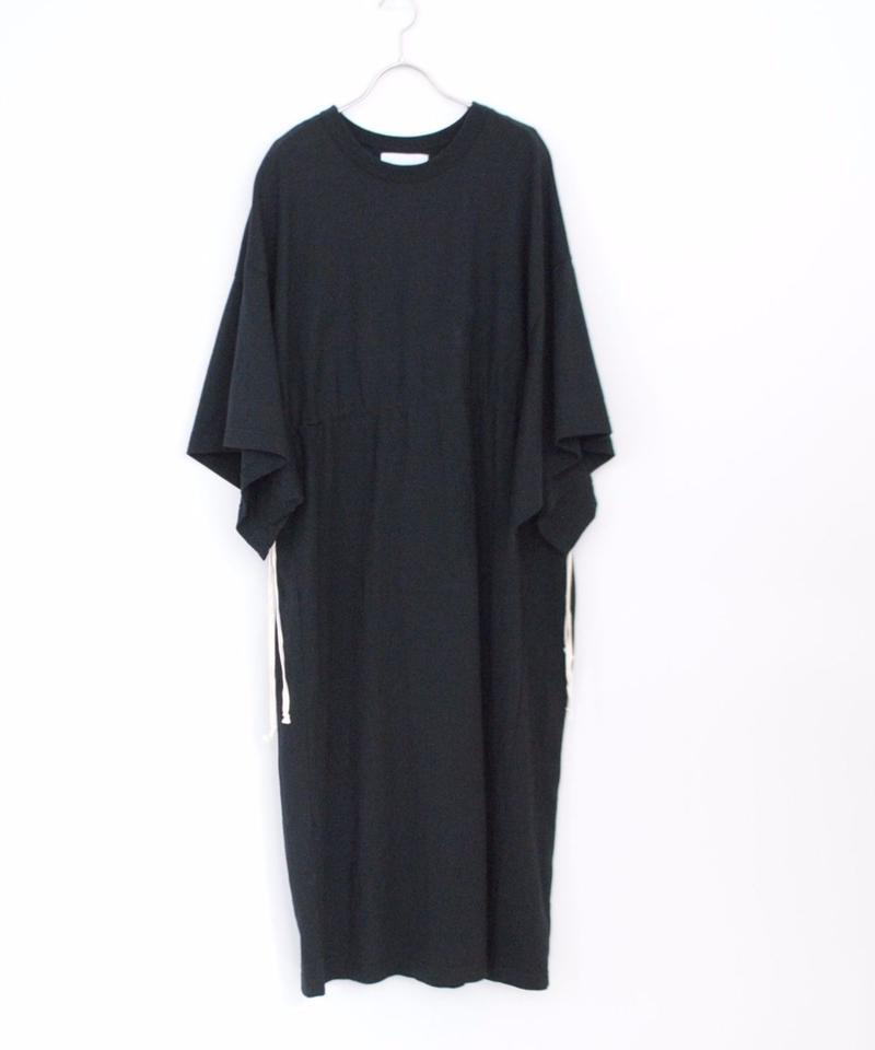 ANITYA/poncho tee dress(black)