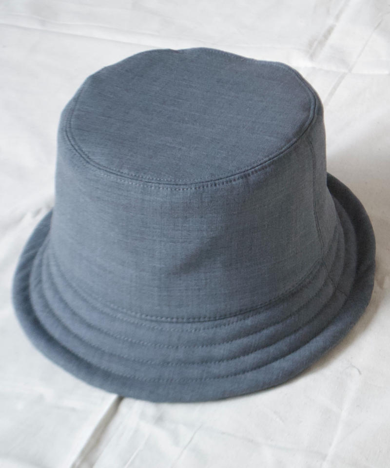 mitake/soft bucket hat( gray)