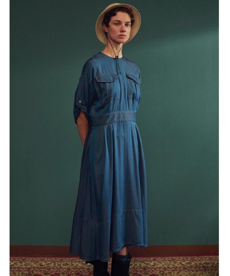 ASEEDONCLOUD /  Hunting dress(indigo cupra)
