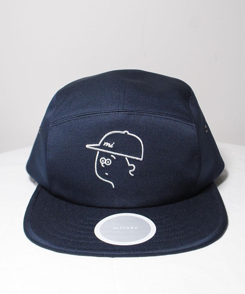 mitake/collaboration jet cap(navy)