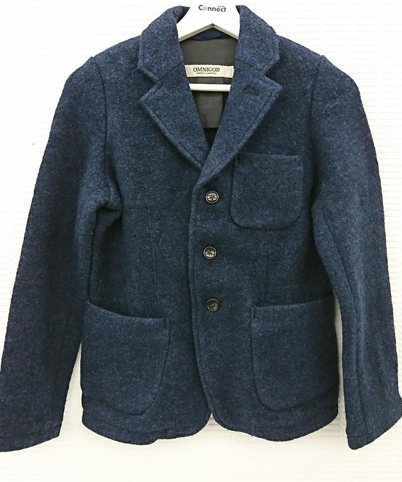 【Ladies】OMNIGOD ウールジャケット(254)