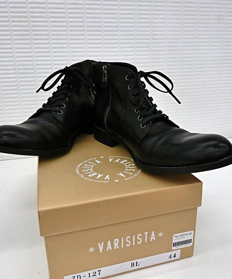 【新品】VARISISTA  サイドジップブーツ ZD127(28)