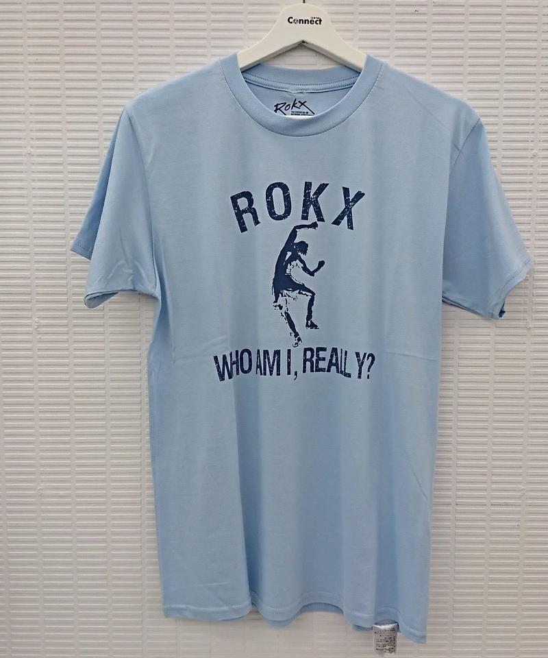 """【未使用品】ROKX S/S Tee""""WHO AM I,REALLY?""""(224)"""