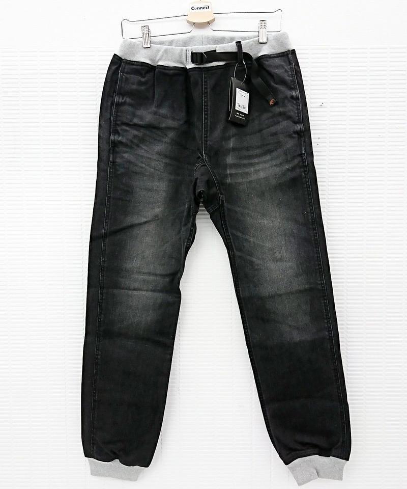 【新品】ROKX コットンウッドデニムパンツ ブラック RXMS6101(31)