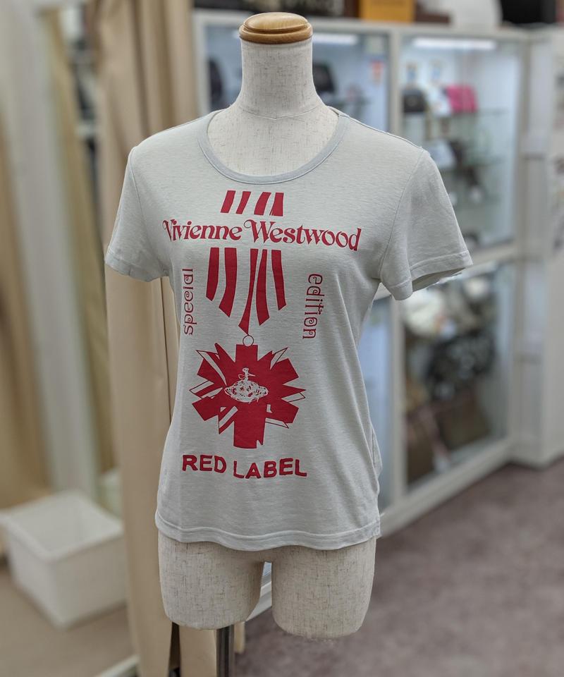 【Ladies】Vivienne Westwood RED LABEL Tシャツ サイズ2(324)