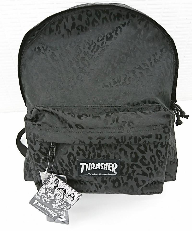 【新品】THRASHER LEOPARD BACK PACK(261)